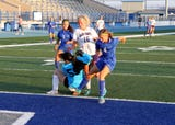 Carlsbad and Clovis started off district play against each other in a match that went to double-OT with three goalies putting in phenomenal work.