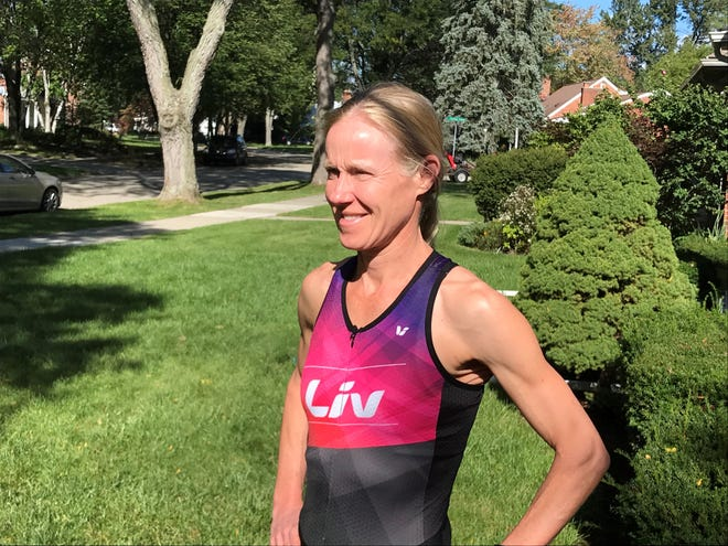 Royal Oak's Nikki Derrick, 47, is one of 20 Michigan triathletes competing Oct. 13 at the Ironman World Championships in Kona, Hawaii.