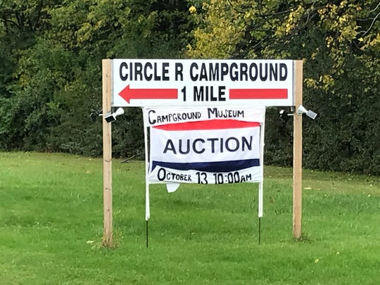 Loderbauer Auctions will run an Oct. 13 auction of the Circle R Campground's museum items.