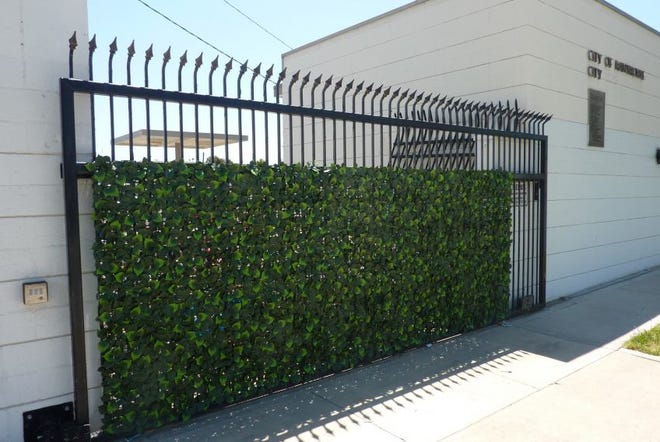 The plastic vines produced by Claremont-based company Ivy-it have been used on walls, gates and freeway underpasses across Southern California.