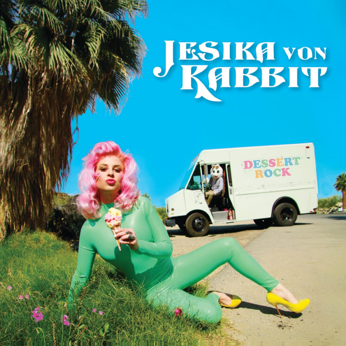 "Jesika von Rabbit's new album, ""Dessert Rock"""