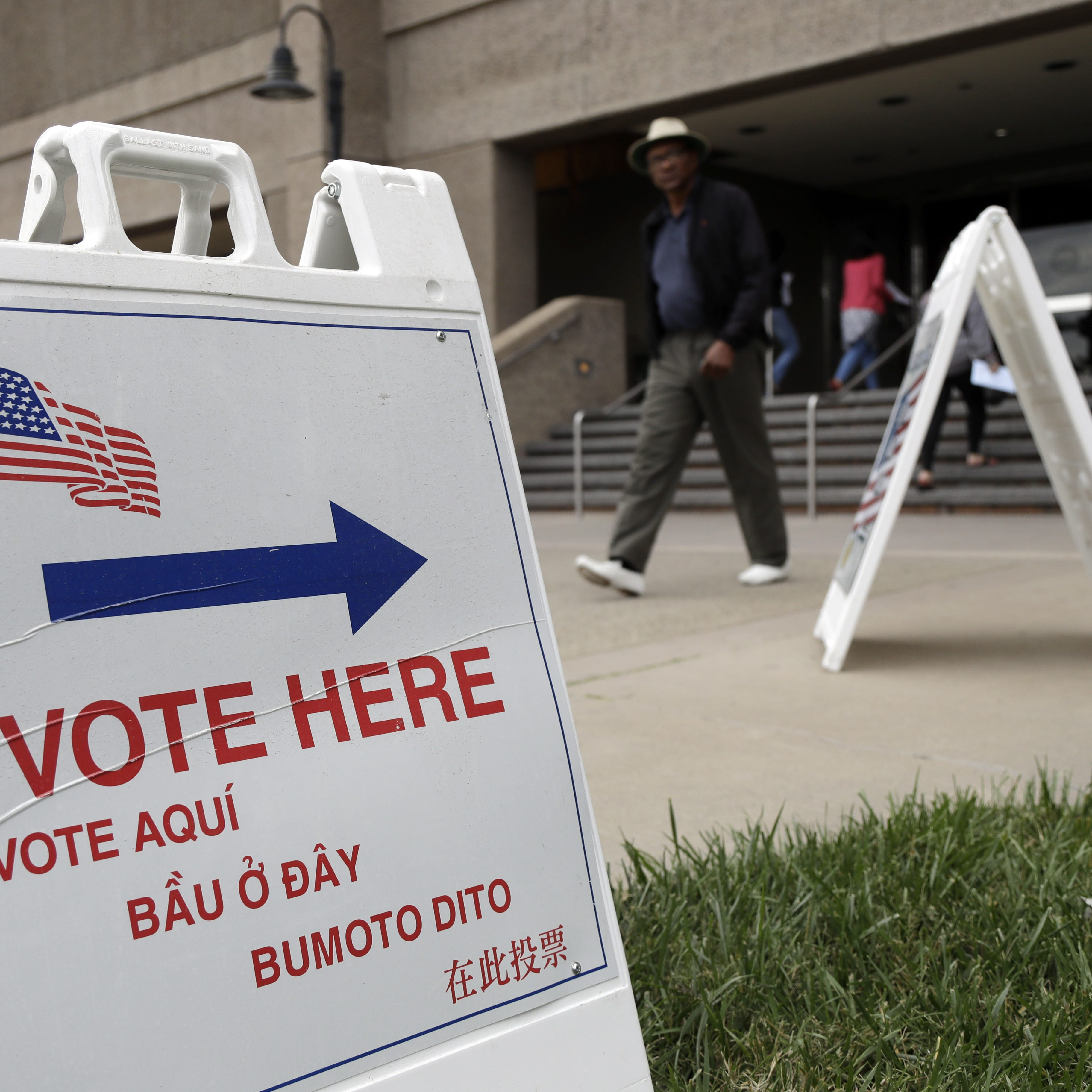 Nov. 6, 2018 -- midterm Election Day  --is fast-approaching. (AP Photo/Marcio Jose Sanchez, File)