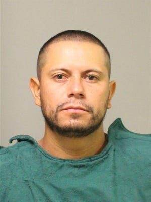 Mario Ruiz Ruiz, 30, of Butler Township charged with terroristic threats, recklessly endangering another person and criminal mischief