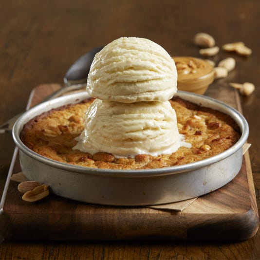 Peanut Butter Pizookie, BJ's Restaurant and Brewhouse