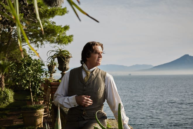 """Rupert Everett (pictured as Oscar Wilde) writes, directs and stars in """"The Happy Prince."""""""