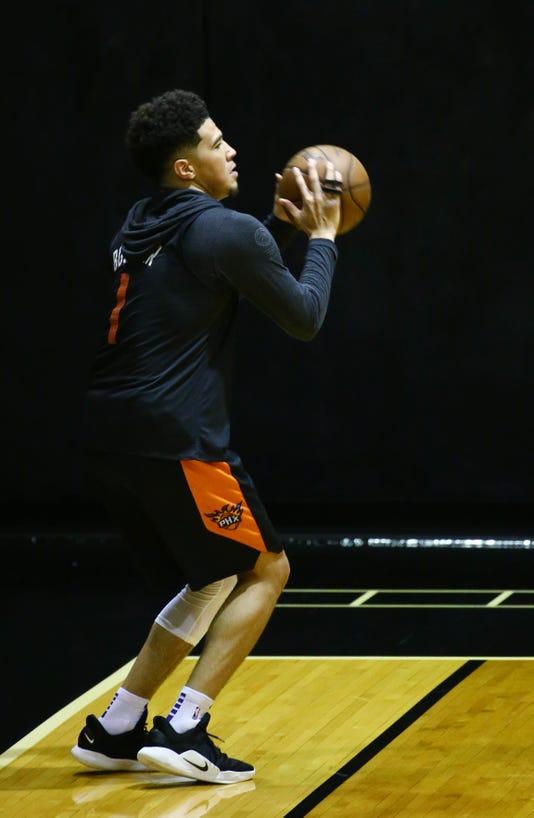 Phoenix Suns Practice 2018