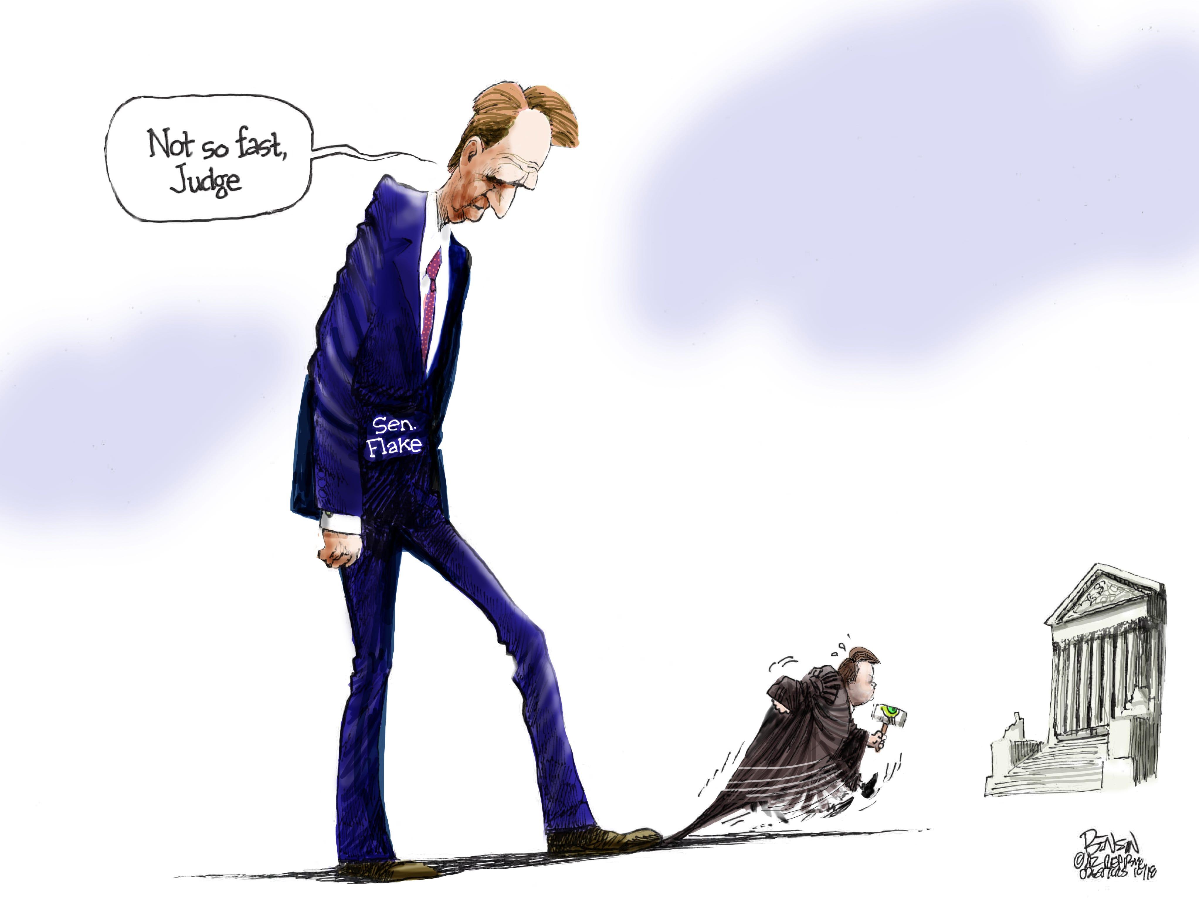 Cartoon for Oct. 3, 2018.