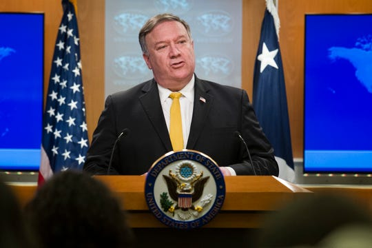 Mike Pompeo, secretario de estado de EU.