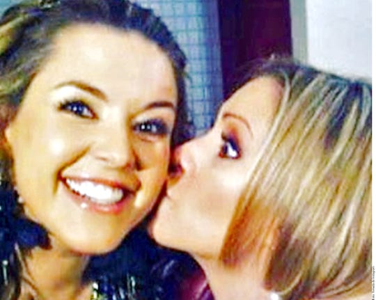 """La ex Miss Universo, Alicia Machado participó en la telenovela """"Una Familia Con Suerte"""" en donde compartió foro con la ahora acusada de robo en EU Daniela Castro."""