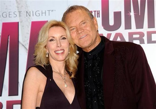 """""""So many caregivers become a second victim of the disease,"""" said Kim Campbell, who cared for her husband, country music star Glen Campbell, during his Alzheimer's battle."""