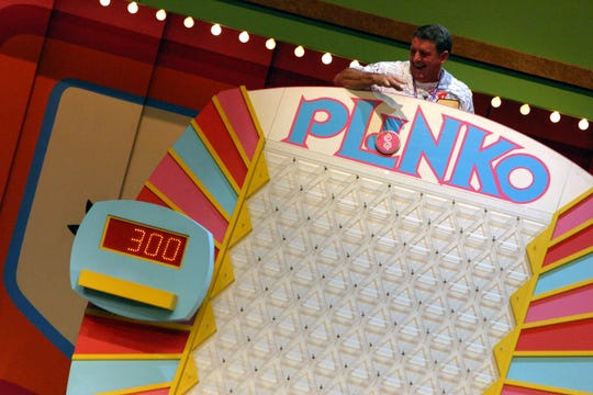 "The game Plinko is featured during ""The Price is Right Live!"""