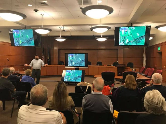 Friends of Camp Security received an update on finding remnants of a Revolutionary War Camp.