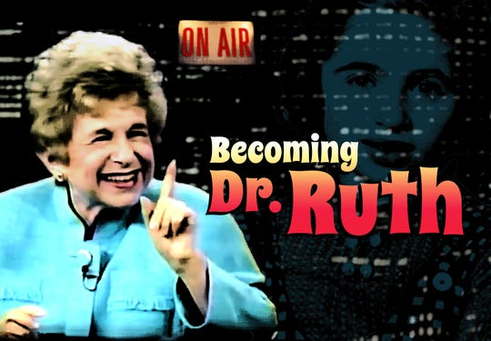 Becoming Dr. Ruth makes its area premiere at JCC CenterStage Theatre this weekend.