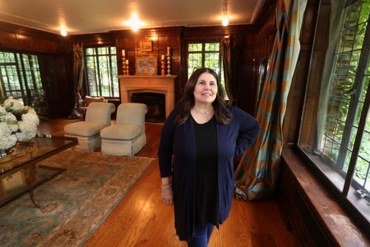 Michele Evangelisti and her husband Stephen are selling this 6,000 square foot Edwardian mansion located on East Ave in Brighton for $1.3 million.