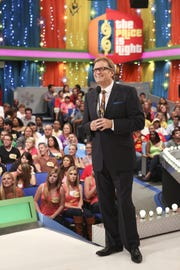 "Drew Carey hosts ""The Price is Right."""