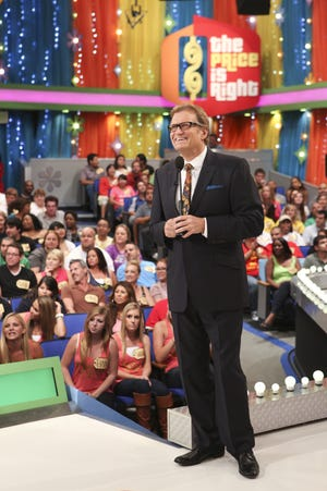 Drew Carey hosts 'The Price is Right.' Kyle Eckert of Rochester is one of the contestants on today's episode of the CBS game show.