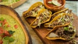 Celebrate National Taco Day with this beef picadillo taco recipe.