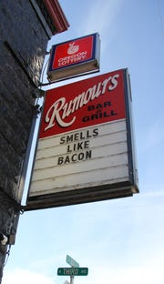 Rumors Bar & Grill is one of the downtown Stayton businesses impacted by the recent smoking ban.