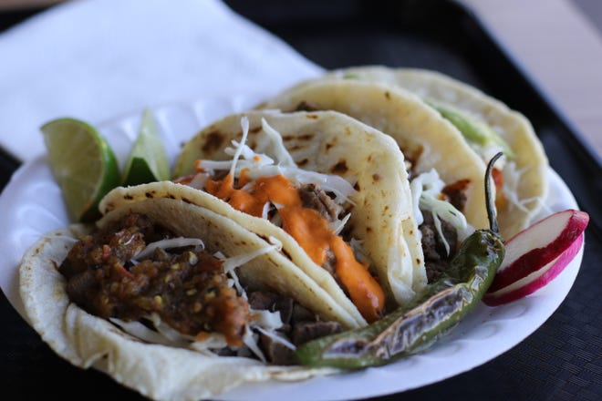 Piping hot house-made tortillas and a wide variety of salsas make tacos from Salvador's Bakery among Salem's best.