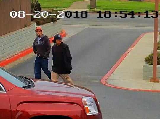Salinas police are looking for the public's help in identifying these men, suspected of attempted murder