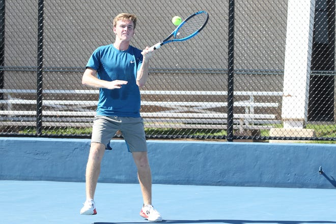 San Angelo Central High School senior David Hensley was named the Most Valuable Boy on the All-District Tennis Team for the 2018 fall season.