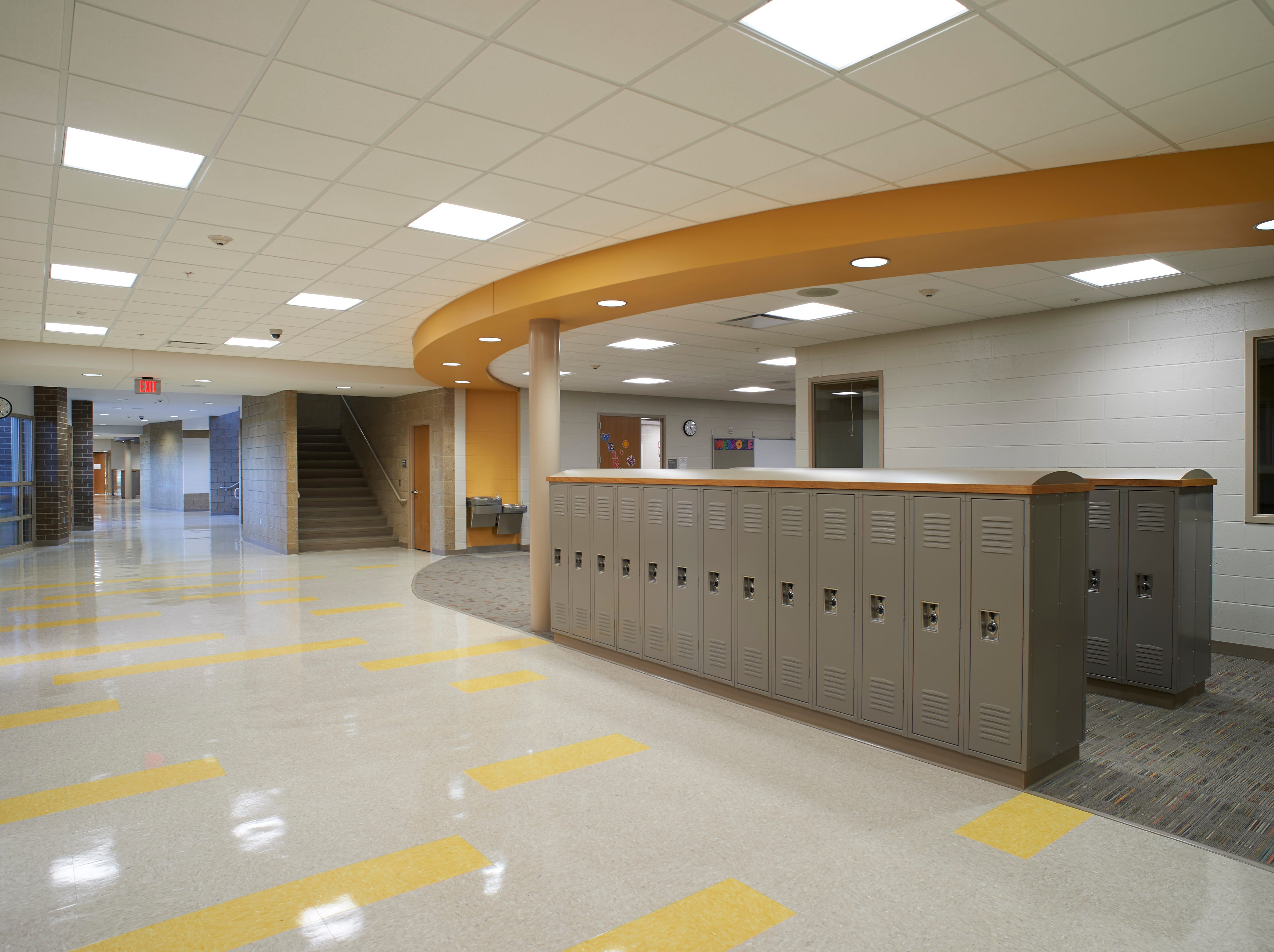 George McGovern Middle School in Sioux Falls.