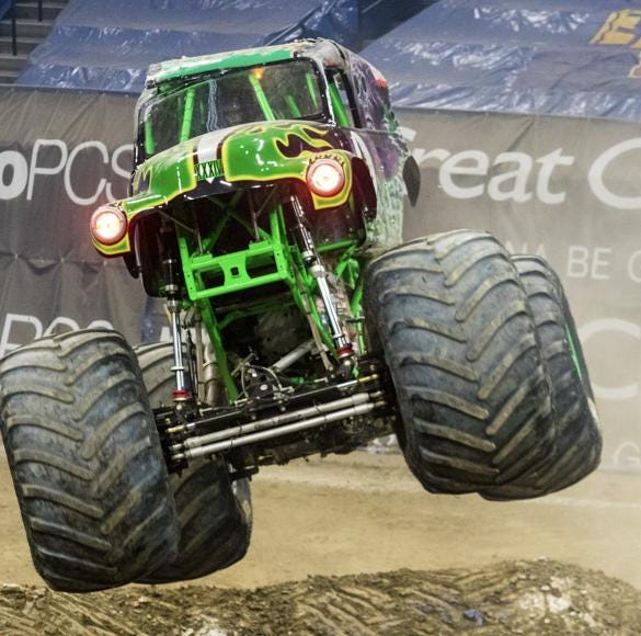 Unleash the beast: Monster Jam and Grave Digger return to Sioux Falls