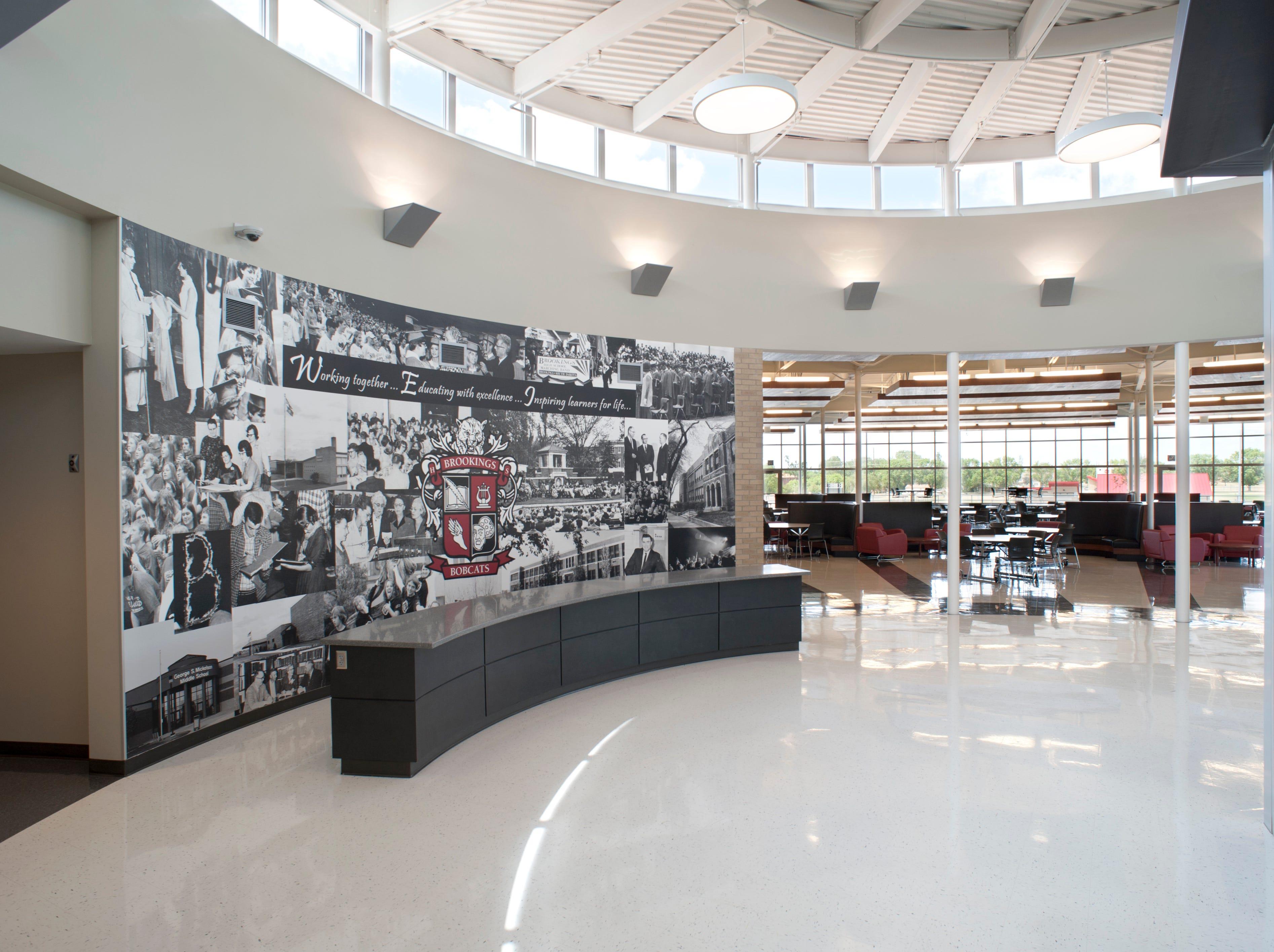 Brookings High School in Brookings.