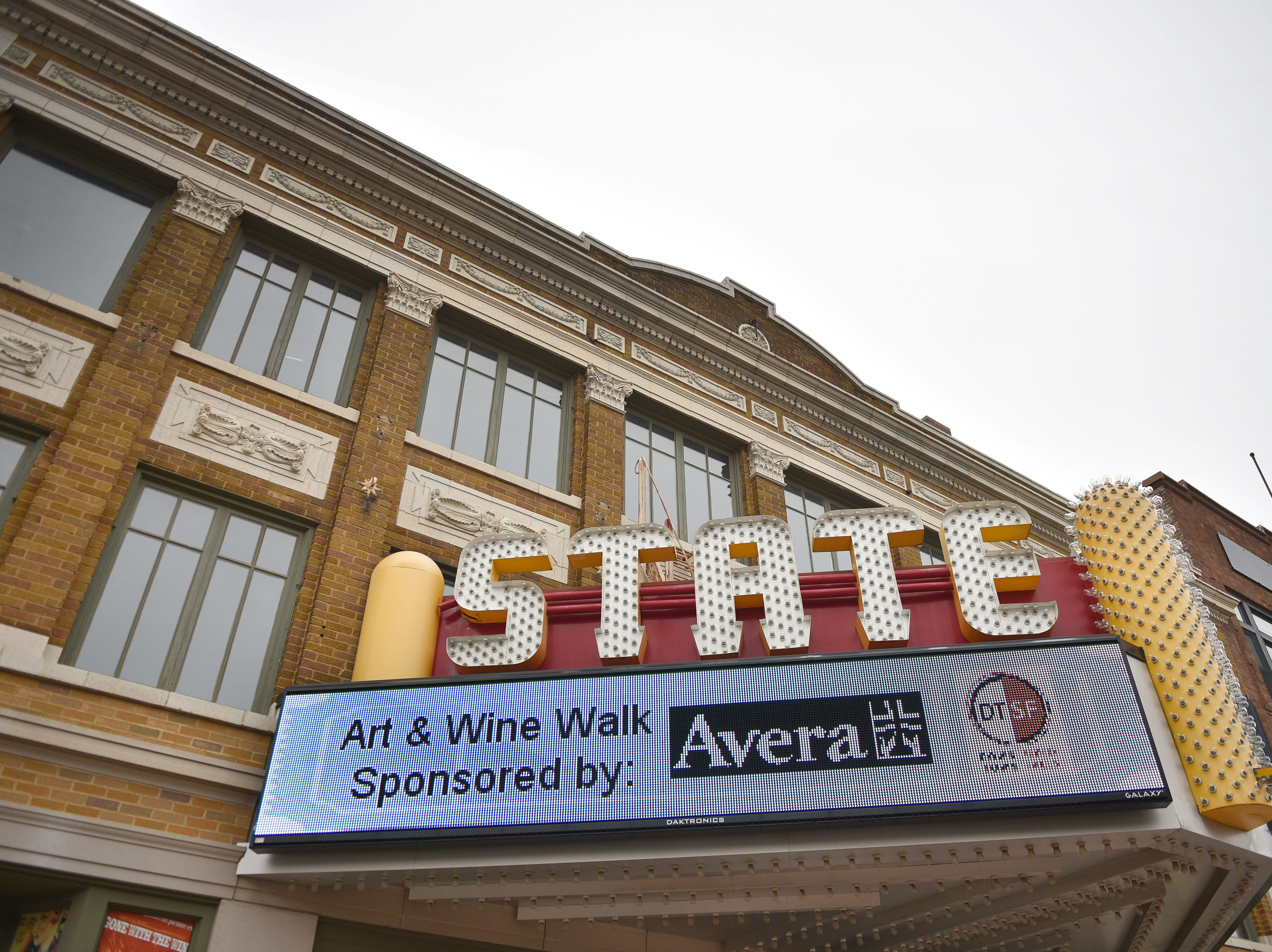 The State Theatre Tuesday, Oct. 2, in downtown Sioux Falls. The State Theatre has been undergoing updates and renovations.