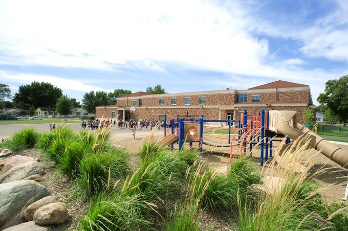 Longfellow Elementary School in Mitchell.