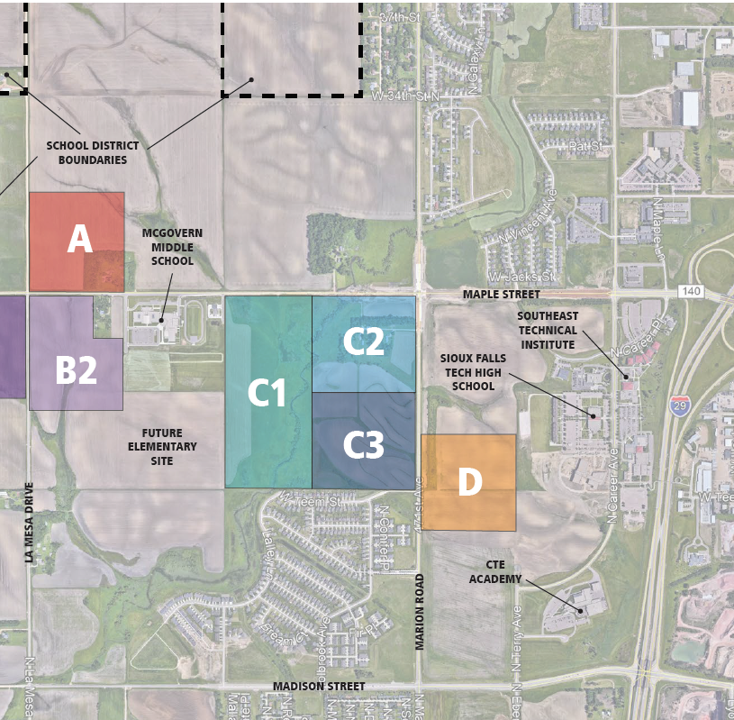 Decision on where to put new Sioux Falls high school taking longer than planned