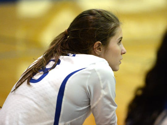 Fort Defiance's Casey Mozingo sat out the first set of Tuesday's match. She injured her shoulder last week and is waiting for an MRI.