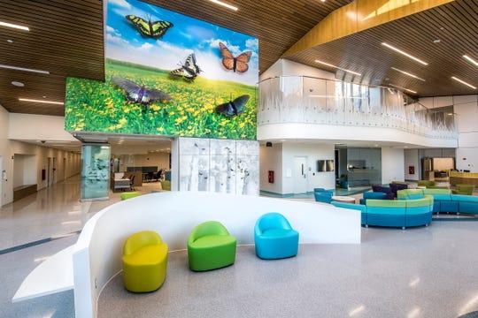 Lobby of the Virginia Treatment Center for Children