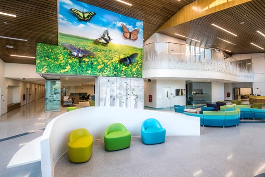 Lobby of the Virginia Treatment Center for Children