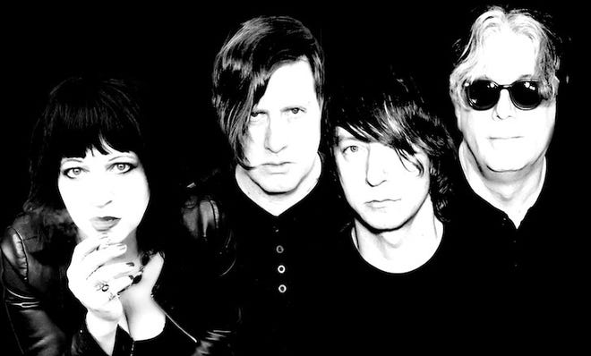 Lydia Lunch, far left, will bring her band with her to Tallahassee on Friday.