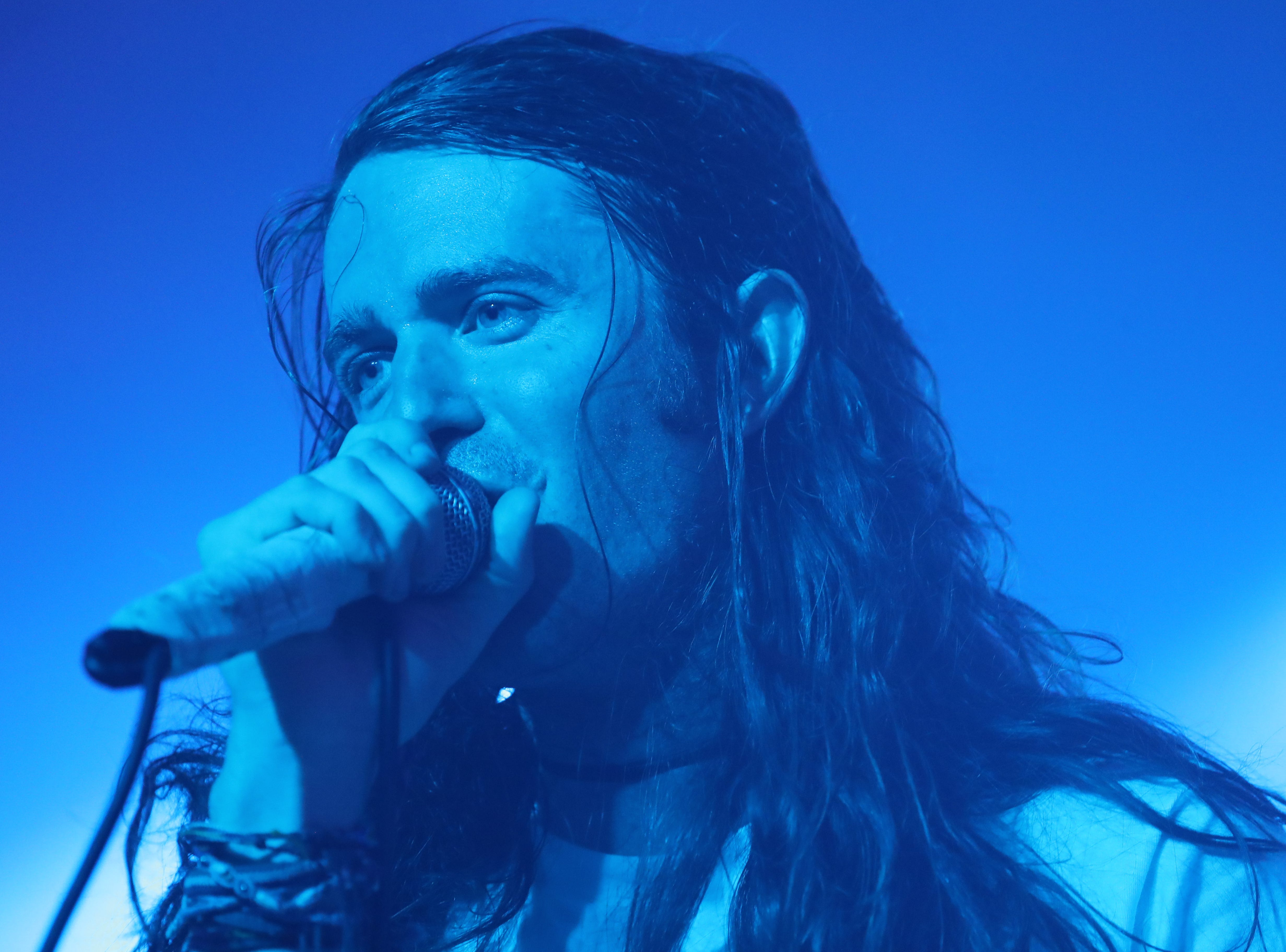 Mayday Parade perform at The Moon in Tallahassee, Fla. Tuesday, Oct. 2, 2018.