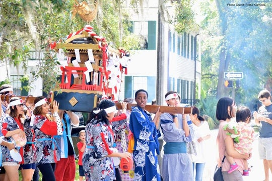 Experience all kinds of Asian culture Saturday in Lewis and Bloxham parks downtown.