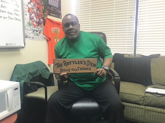 Rattlers associate head coach/secondary coach Billy Rolle played at FAMU. He'll be celebrating homecoming weekend with fond memories.