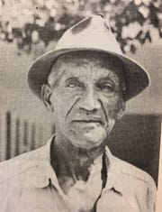 In 1975, Abraham McGriff was one of the oldest living residents of the Gifford community.
