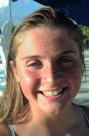 Blair Stoneburg, Jensen Beach High School swimmer