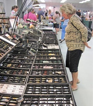 Looking for a special piece of jewelry for a loved one or yourself? The 41st Annual Handcrafted Jewelry, Rock, and Gem Show at the Martin County Fairgrounds is Saturday, Oct.20, and Sunday, Oct.21.