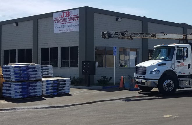 JB Wholesale Roofing and Building Supplies Inc. is now at 3810 Transport St. in Ventura.