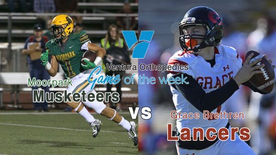 The Ventura Orthopedics Game of the Week: Moorpark vs. Grace Brethren at Moorpark College