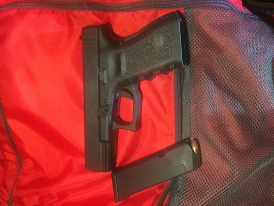 Authorities say this unregistered firearm was seized Sept. 28 by the Ventura County Sheriff's Office in connection with the arrest of Tyler Myers, 30, of Newbury Park.