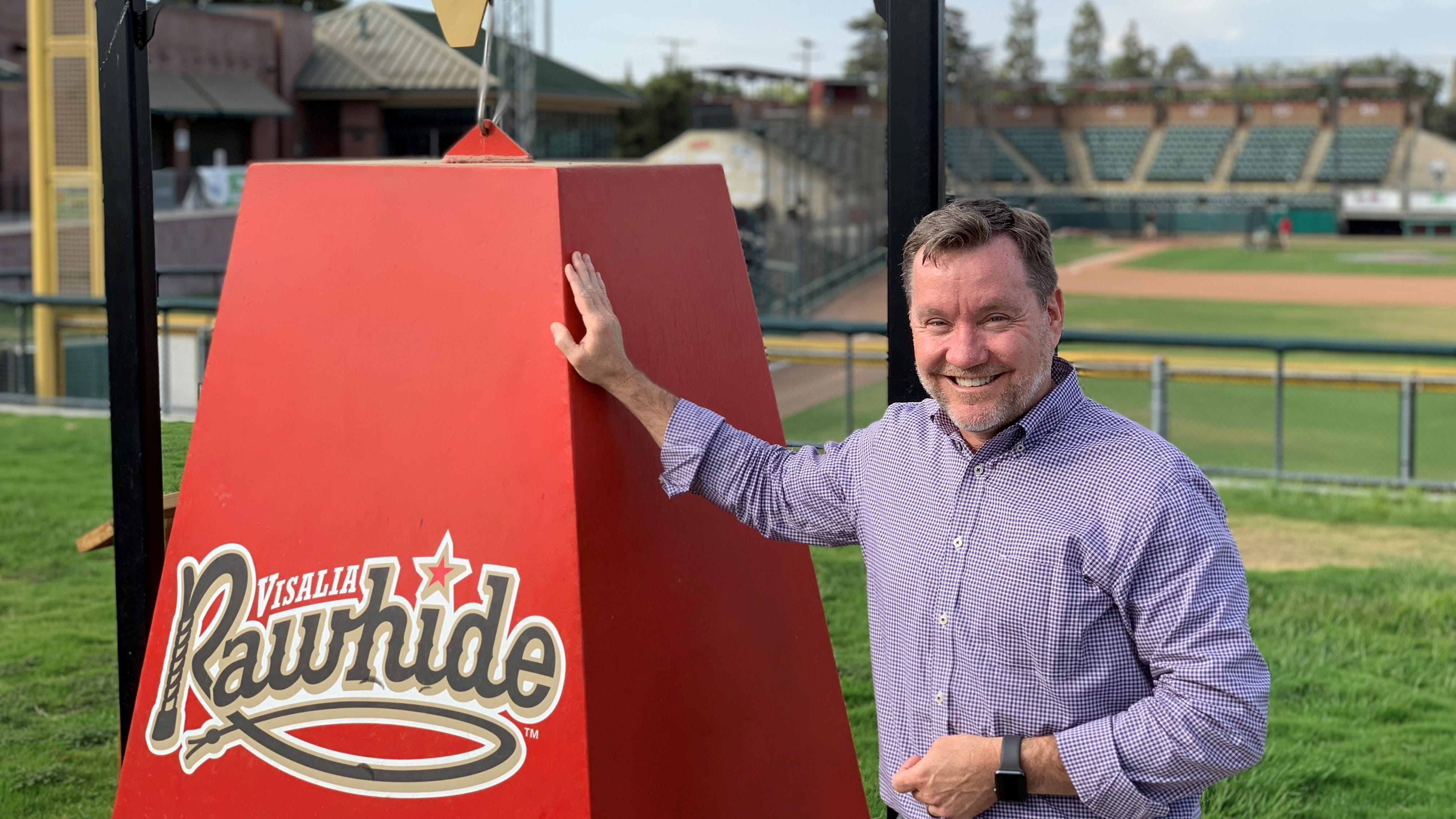 BREAKING: Visalia Rawhide owner announces he's selling team, says club on strong ground