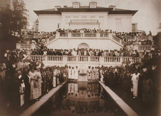 1924 Walker Beauty Culturists Convention at Villa Lewaro