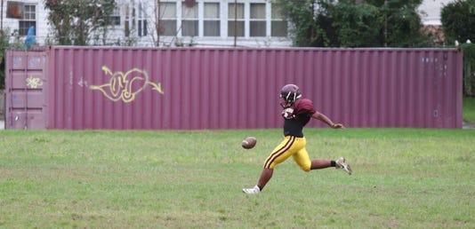 Mount Vernon Football Practice