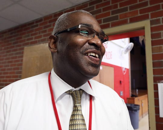 Kenneth Haskins, North Rockland School District Coordinator of Alternative Programs, at the North Rockland Extension High School in Garnerville Oct. 3, 2018.