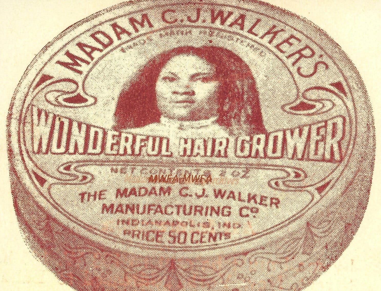 Madam C. J. Walker's Wonderful Hair Grower