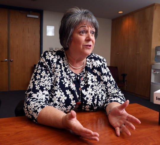 Ileana Eckert. Superintendent of the North Rockland School District in Garnerville Oct. 3, 2018.
